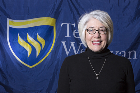 Headshot of Julie McCoy, Texas Wesleyan music professor.